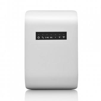 Repetidor de Sinal Wifi Ac750 Mbps Dual Band 750AC Branco Bivolt RE054 Multilaser
