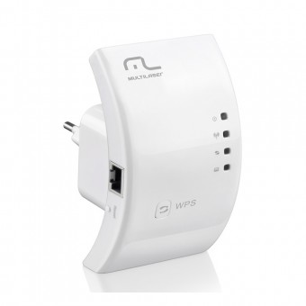 Repetidor E Roteador 300mbps Wps RE051 Branco Multilaser