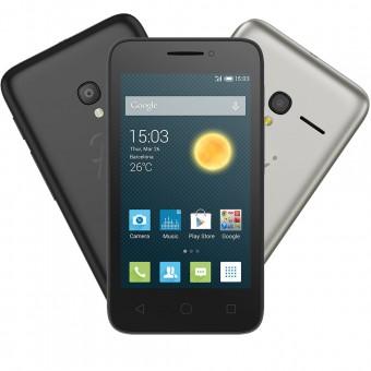 Smartphone Alcatel PIXI3 3.5 OT4009 Preto/Prata