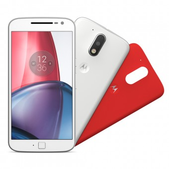 Imagem - Smartphone Motorola Moto G4 Plus XT1640 Branco