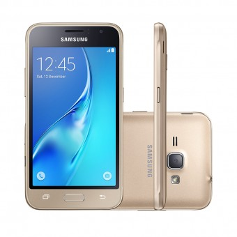 Smartphone Samsung Galaxy J3 2016 Duos Dourado 4G