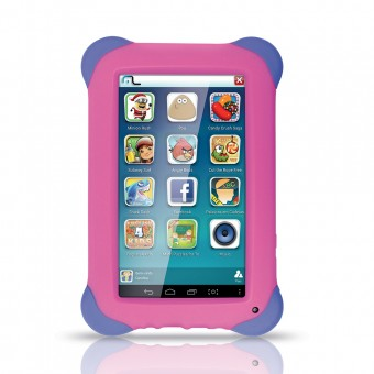 Imagem - Tablet Kid Pad Rosa NB195 Multilaser