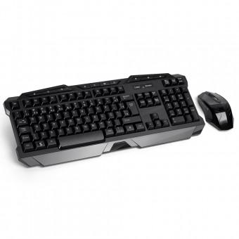Teclado e Mouse Gamer Sem Fio 2.4GHz USB TC166 Multilaser