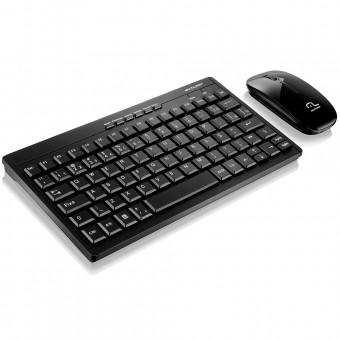 Teclado E Mouse Sem Fio 2.4 Ghz Usb TC184 Preto Multilaser