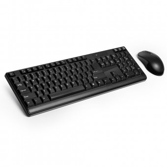 Teclado E Mouse Sem Fio 2.4 Ghz Multimidia USB Preto TC162 Multilaser