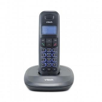 Telefone Sem Fio Digital até 5 Ramais com Id de Chamadas e Viva Voz VT650 Preto Vtech