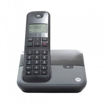Telefone Sem Fio Digital até 5 Ramais com Id de Chamadas Preto MOTO3000 Motorola