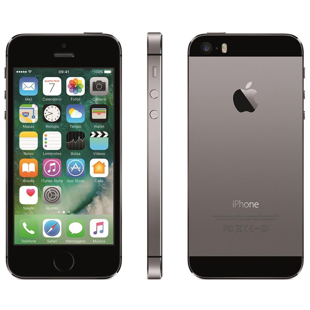 iPhone 5S Cinza Espacial 16GB Apple