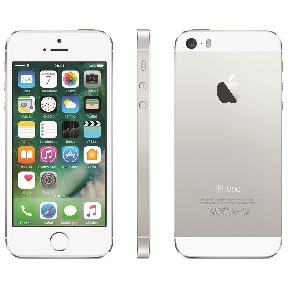 iPhone 5S Prata 16GB Apple