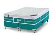 Imagem do produto - Conjunto Cama Box - Colchão Green Unique Molas Pocket Castor com Box SI