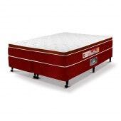 Imagem do produto - Conjunto Cama Box - Colchão Red & White Espuma D33 AIR One Face Castor com Box SI