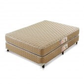 Imagem do produto - Conjunto Cama Box - Colchão Gran Hotel Molas Bonnel Castor com Box SI