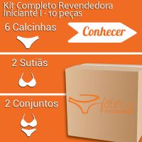 Kit Completo Revendedora Iniciante I- 10 peças