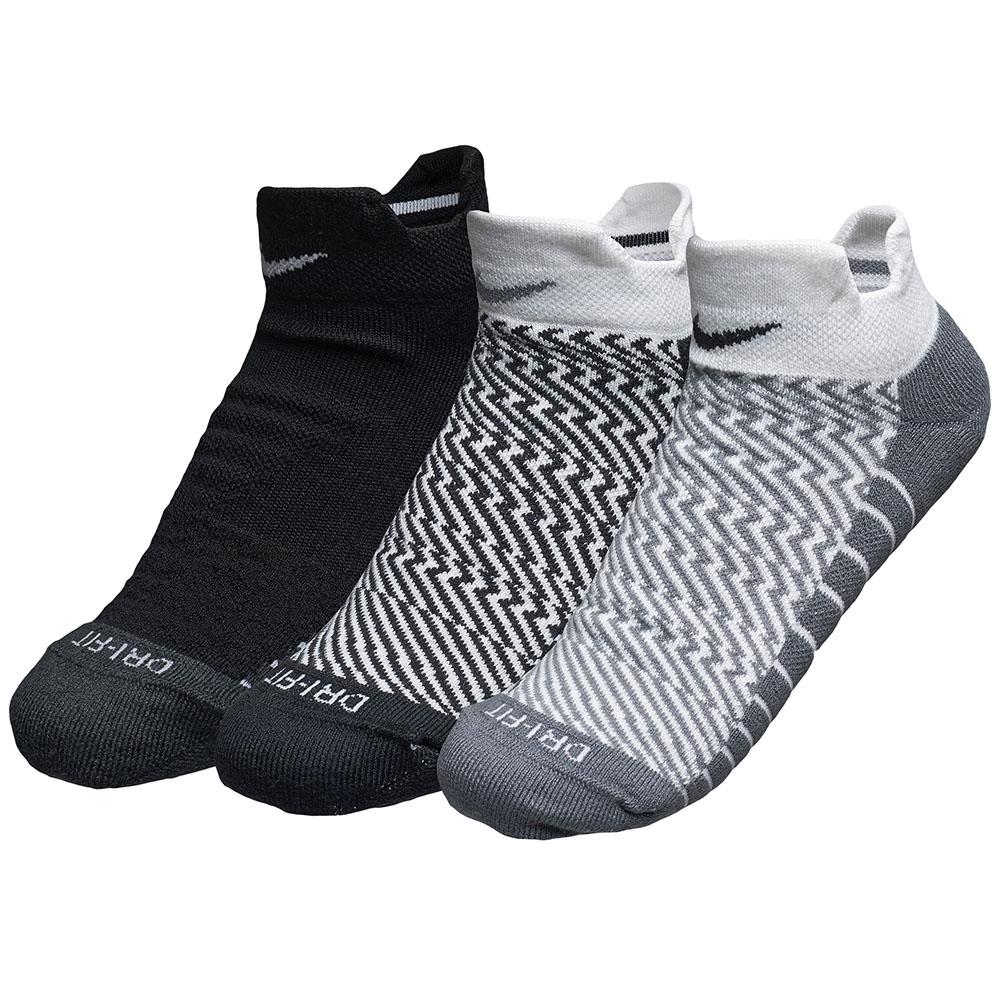 Imagem - Kit 3 Meias Nike Cano Baixo Dri-fit Cushion