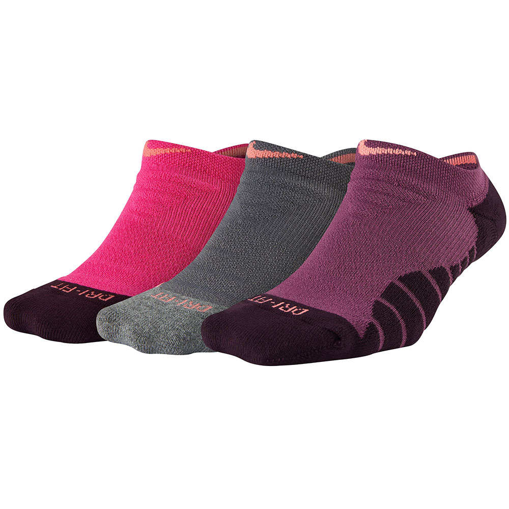 Imagem - Kit 3 Meias Nike Cano Invisivel Dry Cushion No Show
