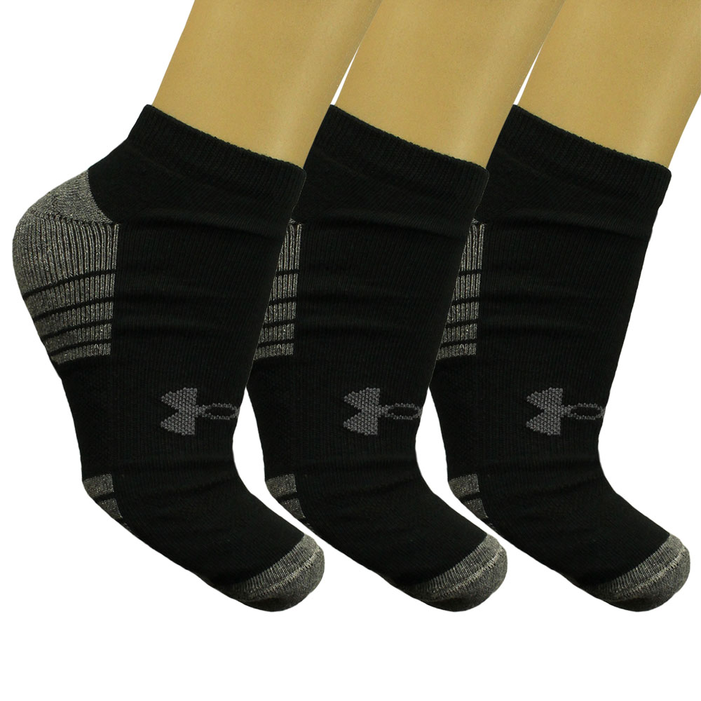 Imagem - Kit 3 Meias Under Armour Cano Invisivel Tech
