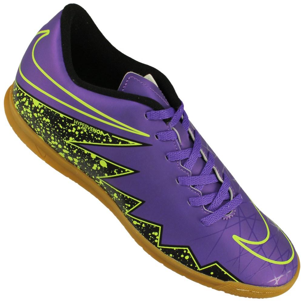 4f8700b3a9 Chuteira Futsal Nike Hypervenom Phade II IC ...