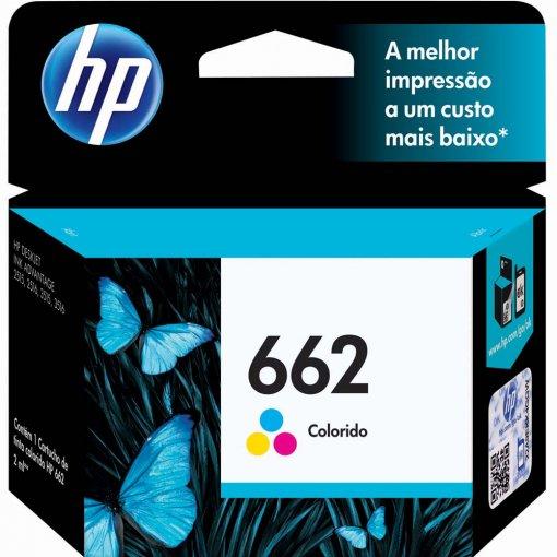Cartucho HP 662 Tricolor 2ml CZ104AB