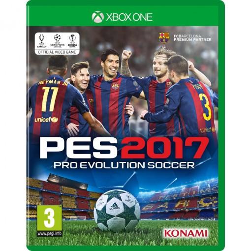 Jogo PES 2017 Pro Evolution Soccer - Xbox One