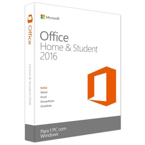 Microsoft Office Home & Student 2016 Portugu�s - FPP