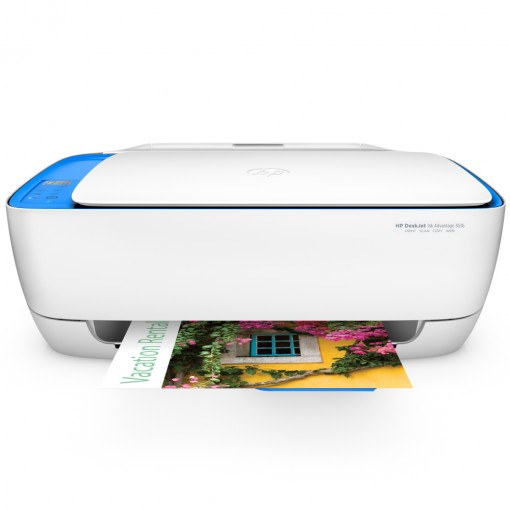 Multifuncional Jato de Tinta HP DeskJet Ink Advantage 3636 All-in-One - Colorida