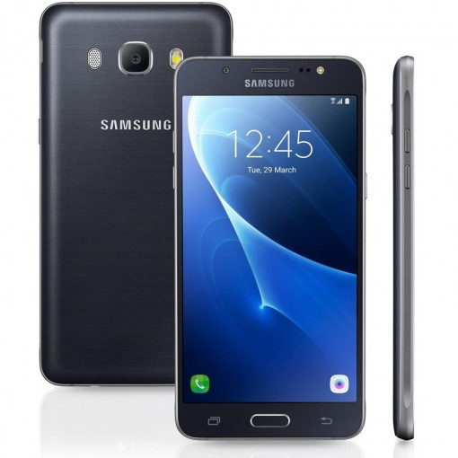 Smartphone Samsung Galaxy J5 Metal Duos J510M, Preto, Tela 5.2'', Android 6.0, 13MP, 16GB, 4G+WiFi