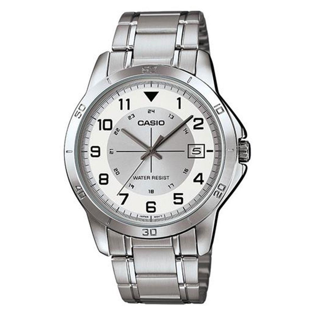 Relógio Masculino Analógico Casio MTP-V008D-7BUDF - Prata