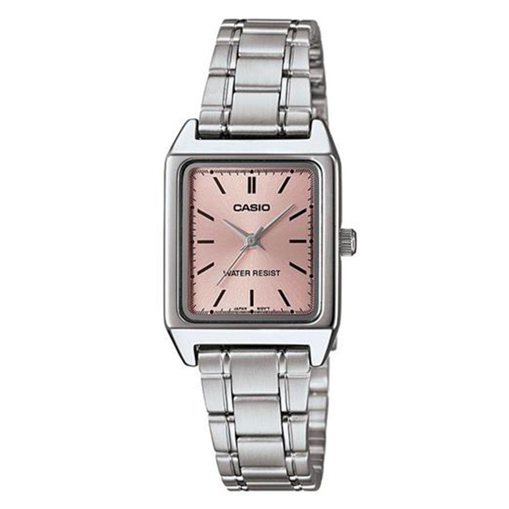 Relógio Feminino Analógico Casio LTP-V007D-4EUDF - Prata