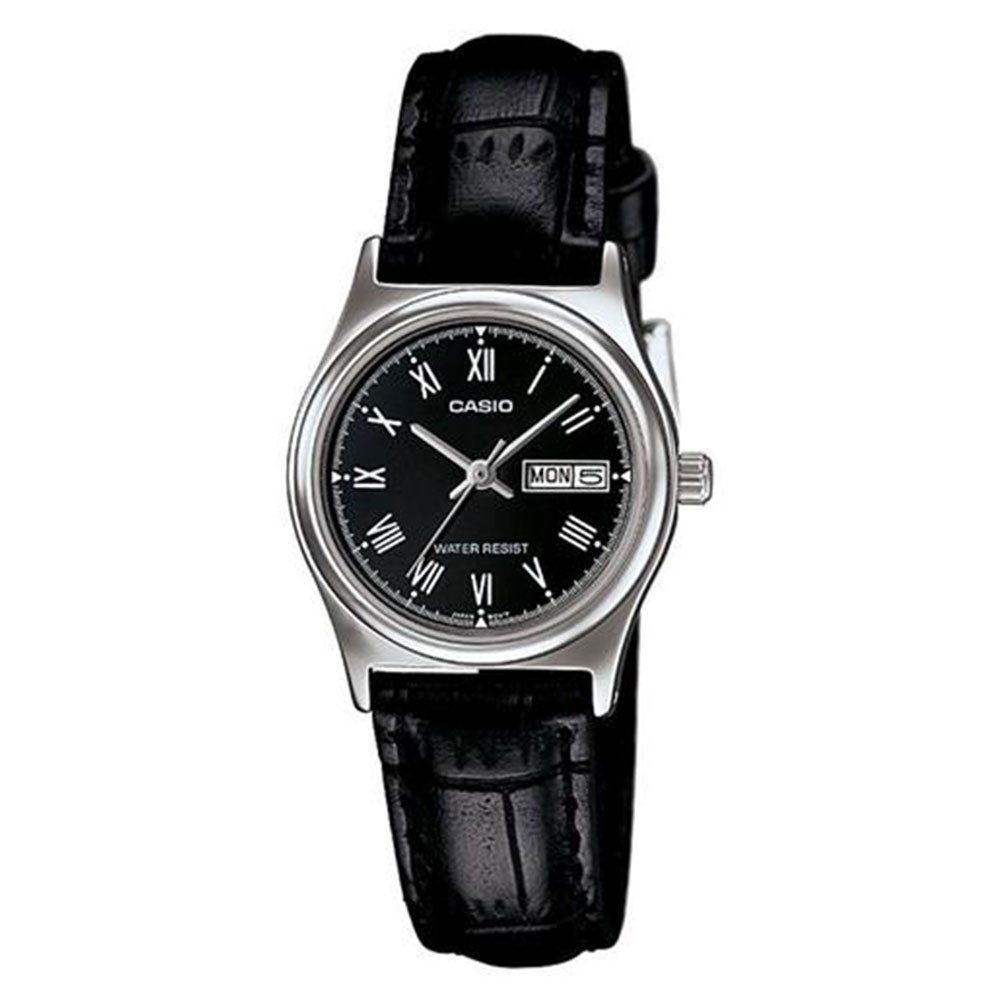 Relógio Feminino Analógico Casio LTP-V006L-1BUDF - Preto