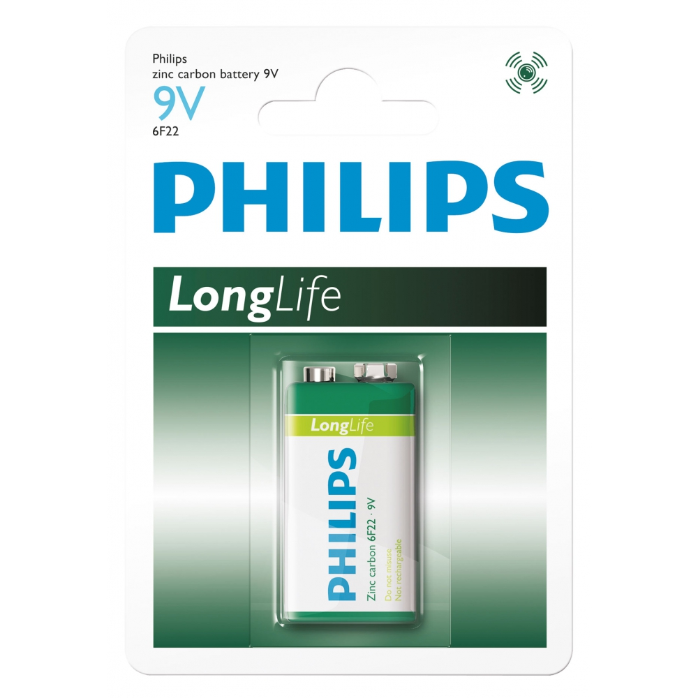 Bateria Philips 9V - 6FL22L1B