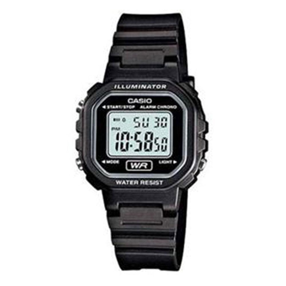 Relógio Feminino Digital Casio LA-20WH-1ADF - Preto