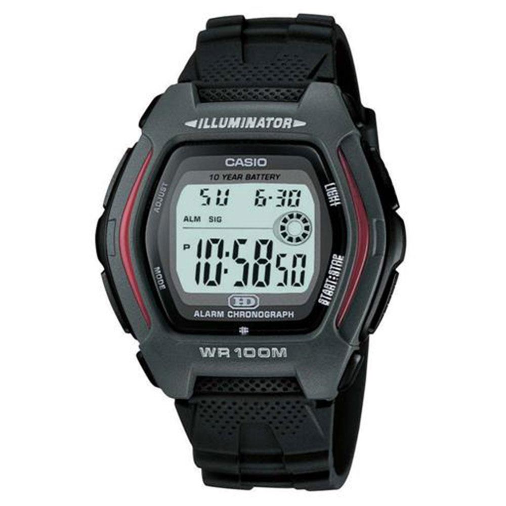 Relógio Masculino Digital Casio HDD-600-1AVDF - Preto
