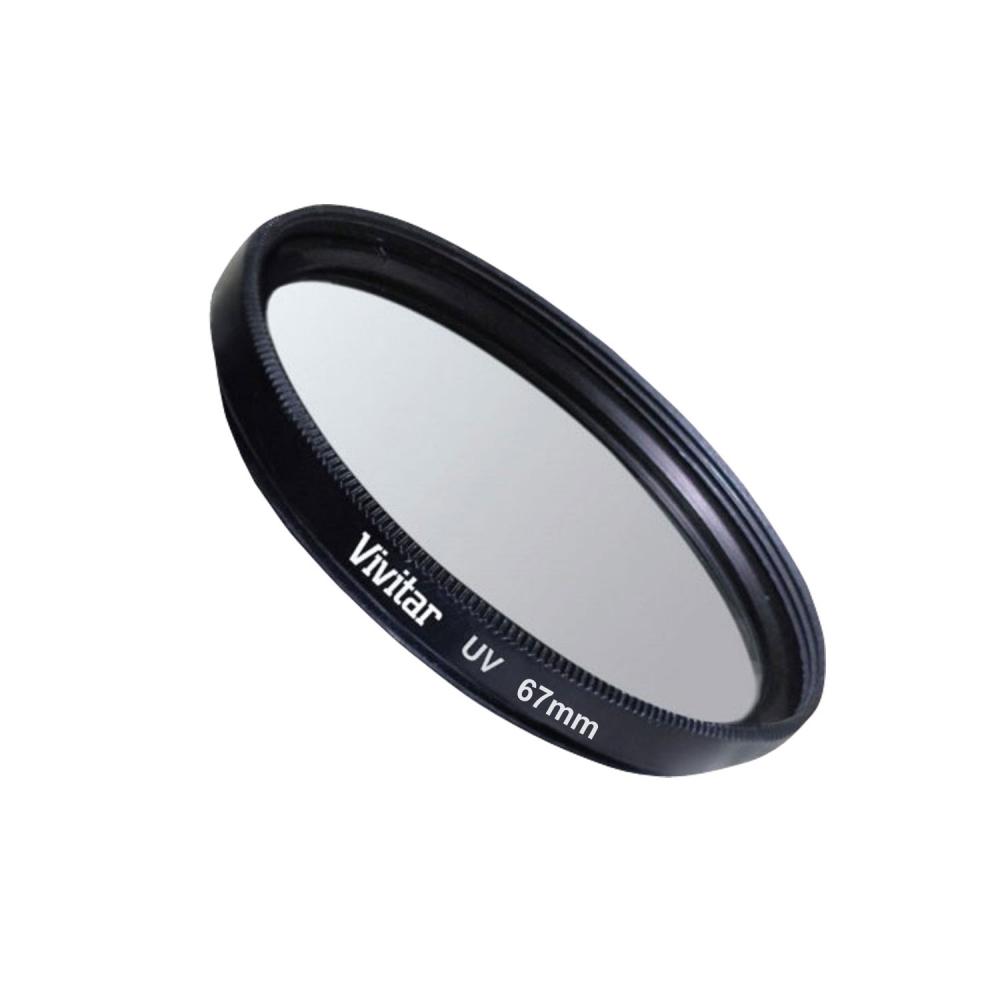 Filtro ultravioleta (UV) para lentes com diâmetro de 67mm - VIVITAR