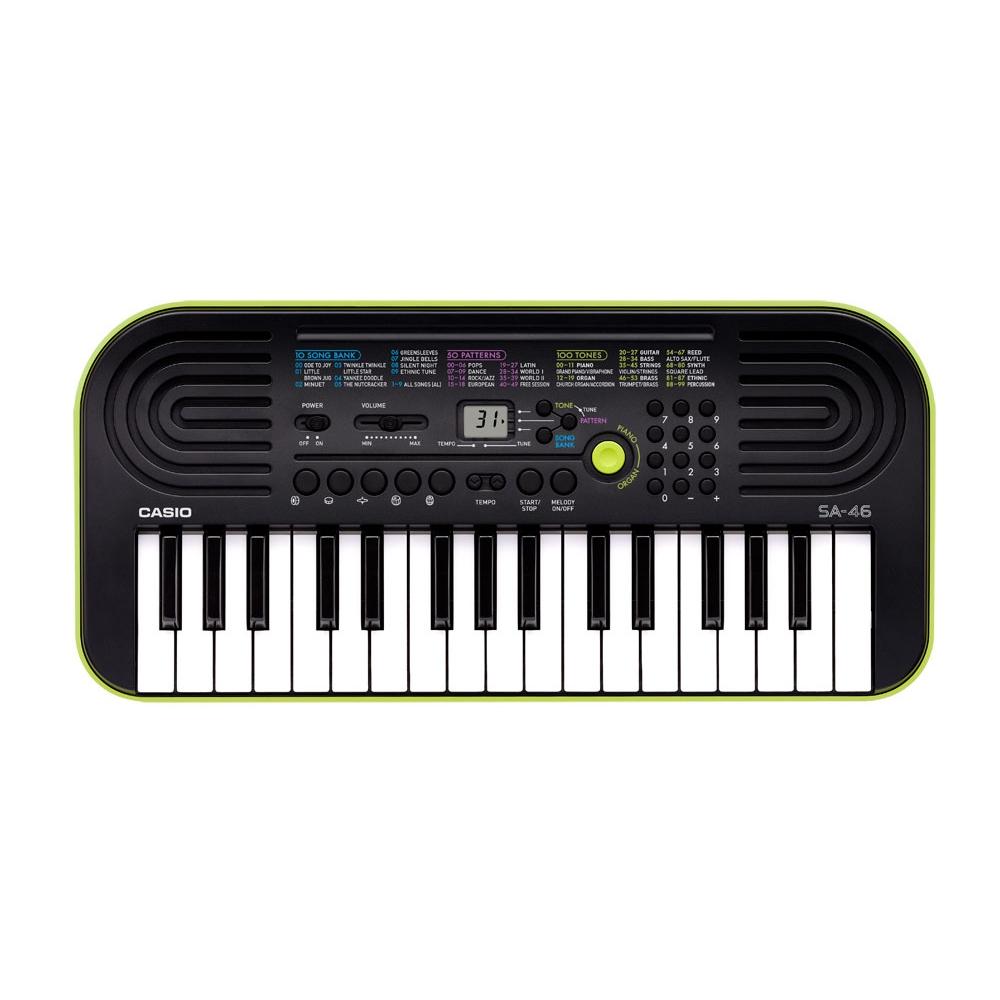 Mini teclado 32 teclas mini, 100 timbres e 50 ritmos - CASIO