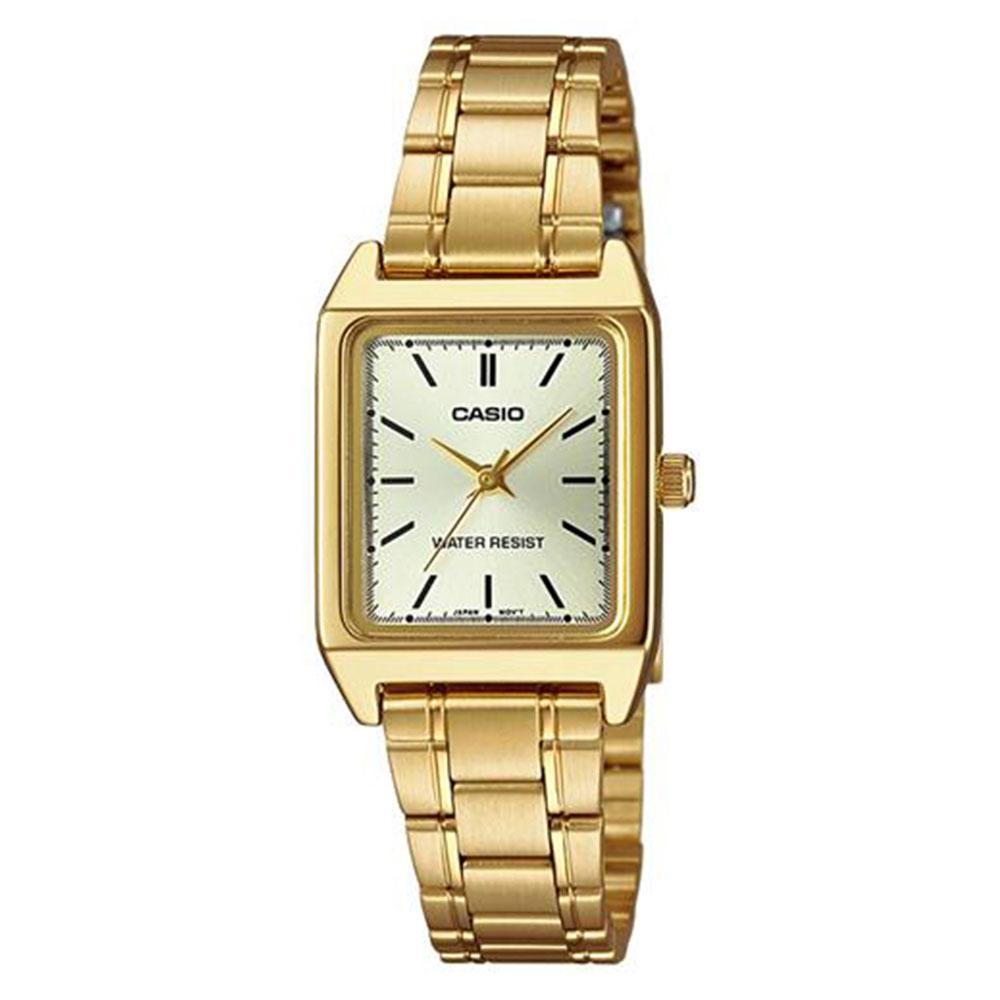 Relógio Feminino Analógico Casio LTP-V007G-9EUDF - Dourado