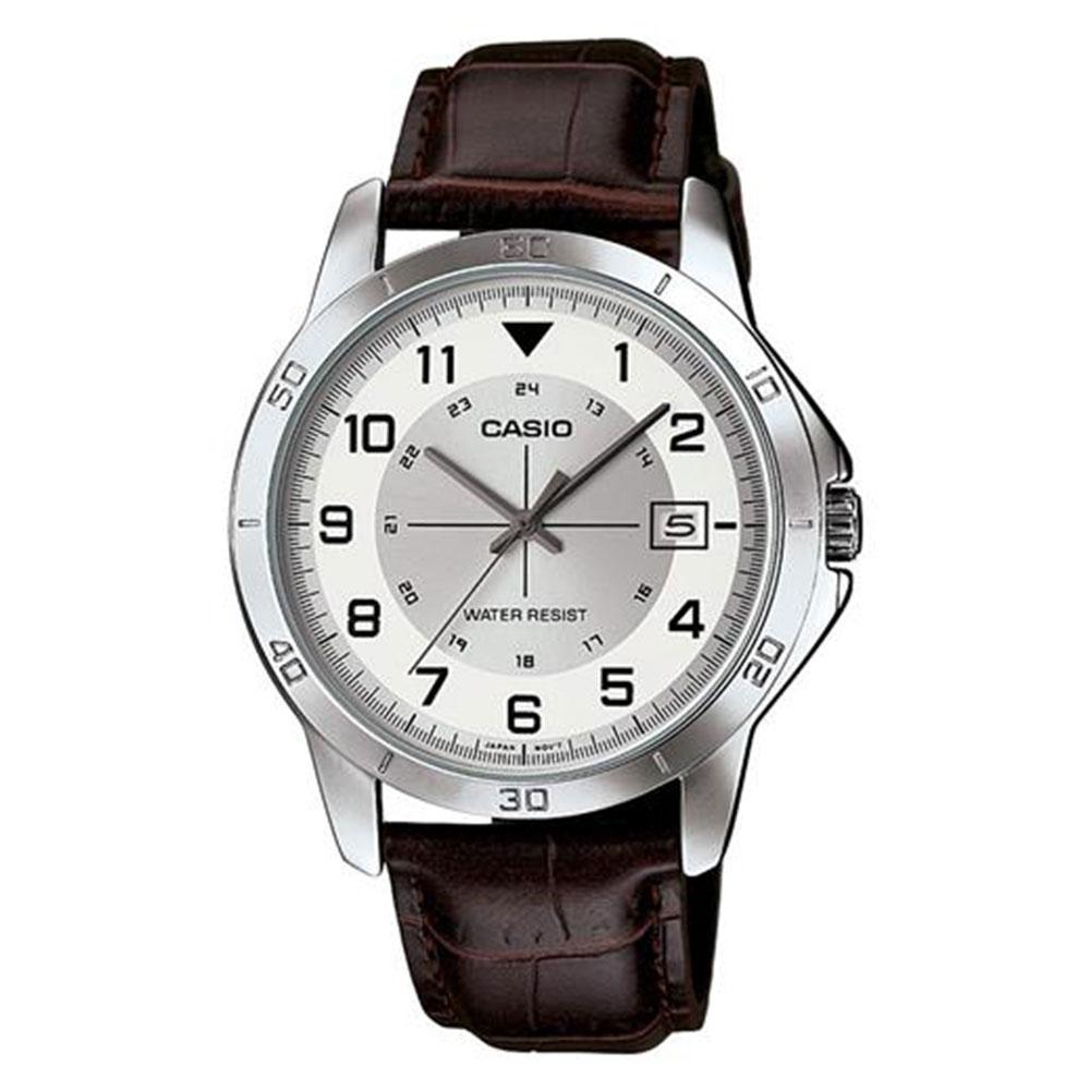 Relógio Masculino Analógico Casio MTP-V008L-7B2UDF - Marrom