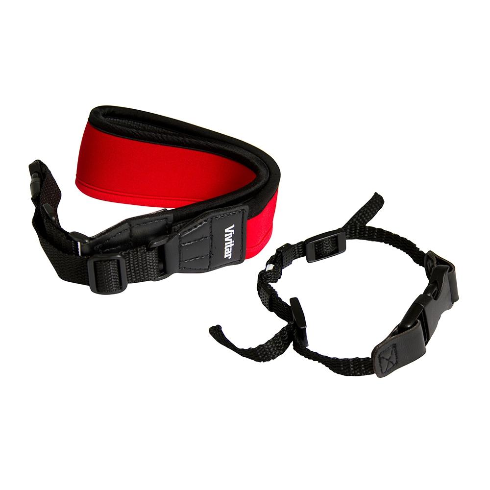 Alça de pescoço para câmera fotográfica DSLR - VIVITAR