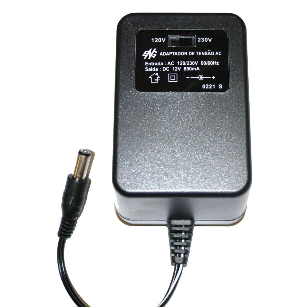 Eliminador de Pilhas e Baterias Opus 850 mA - AC bivolt / DC 12 V - ACDC