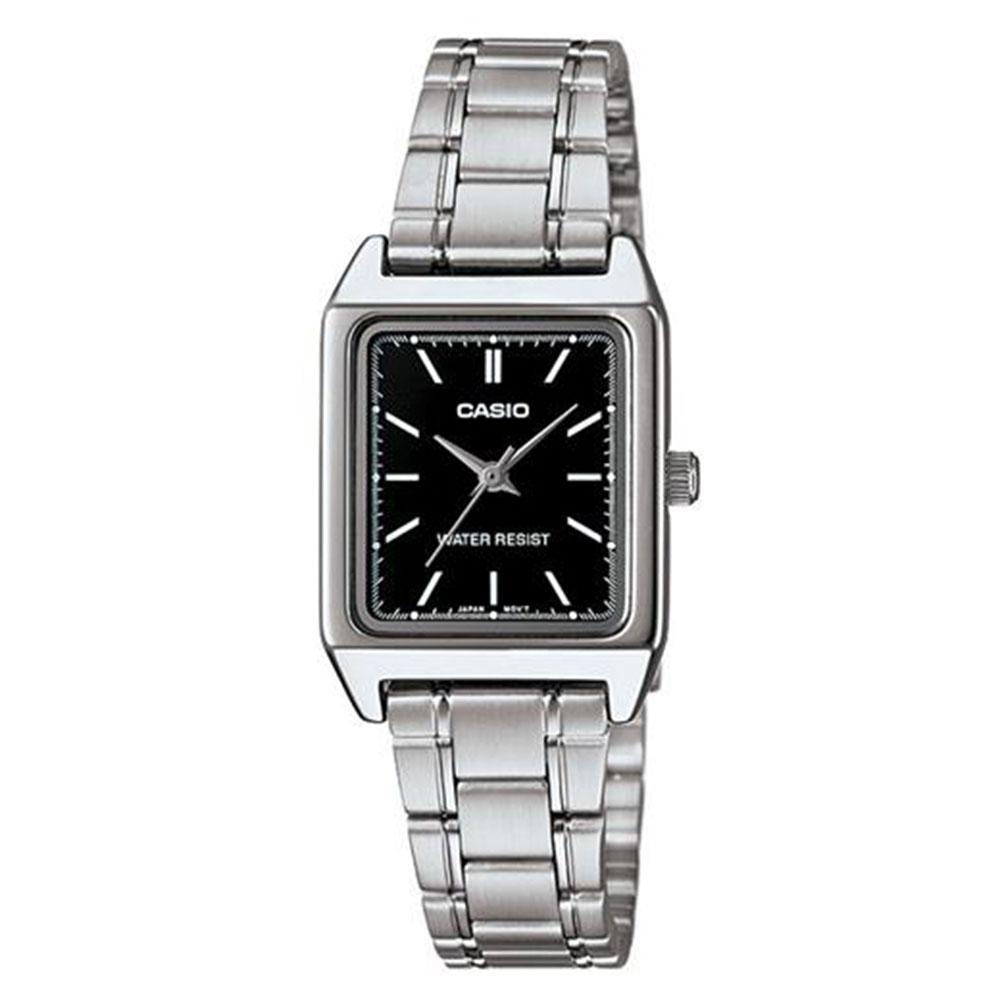 Relógio Feminino Analógico Casio LTP-V007D-1EUDF - Prata