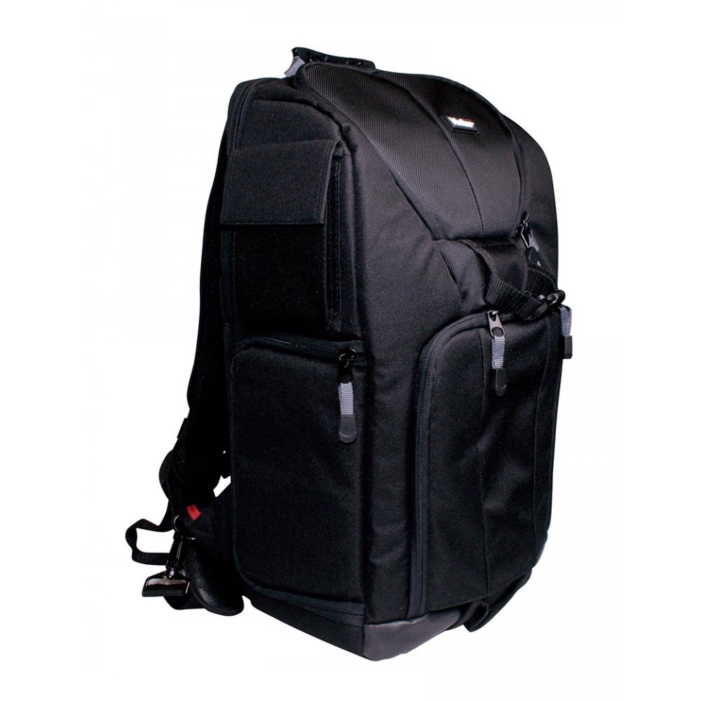 Mochila para câmera digital SLR, lente, notebook com tela de 17 polegadas - VIVITAR