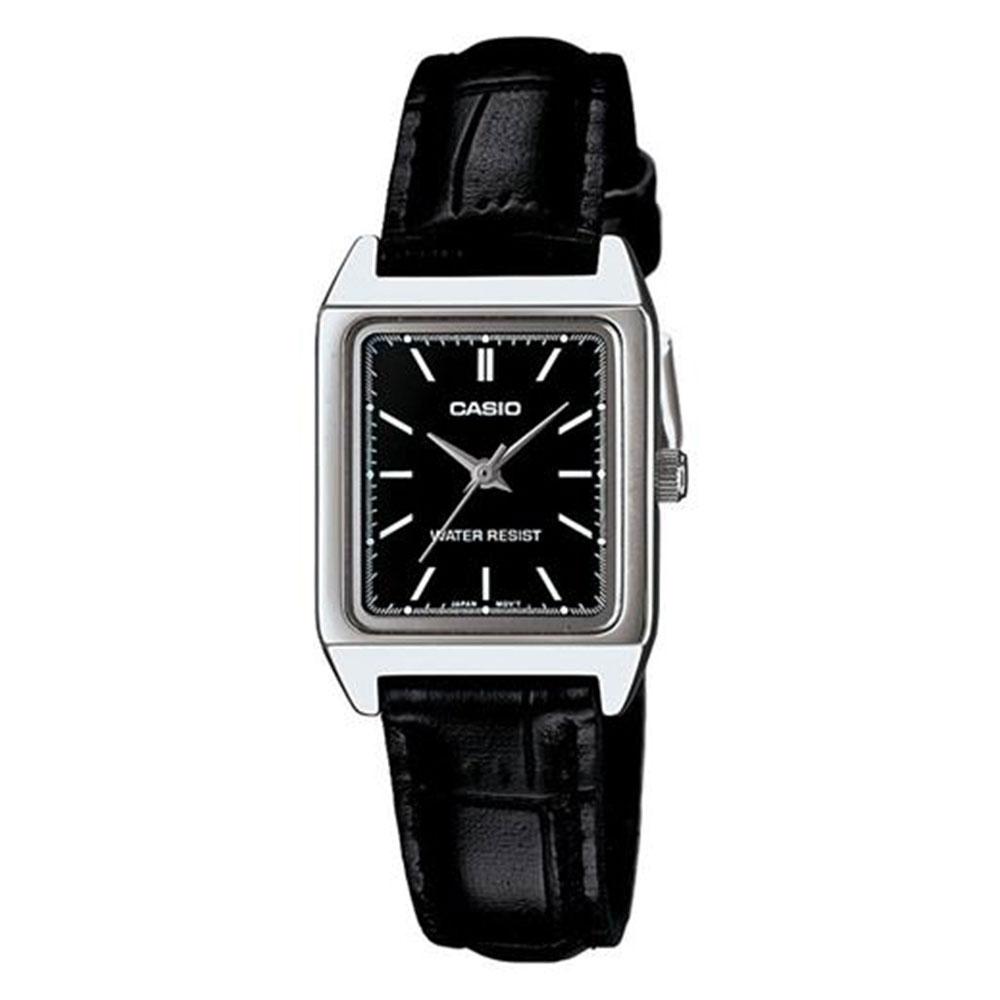 Relógio Feminino Analógico Casio LTP-V007L-1EUDF - Preto