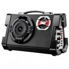 Caixa de Som Amplificadora Multilaser Multiuso SP191 com Microfone - MP3/USB/AUX/SD/FM Guitarra