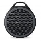 Caixa de Som Speaker Logitech X50 com 03 Watts RMS, Preto e Cinza - Bluetooth