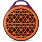 Caixa de Som Speaker Logitech X50 com 03 Watts RMS, Laranja e Roxo - Bluetooth