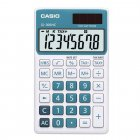 Calculadora Casio portátil color, visor XL, 8 díg e alimentação dupla SL-300NC - CASIO