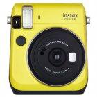 Câmera Instantânea FujiFilm Instax Mini 70 - Amarelo