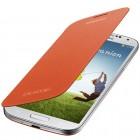 Capa para Samsung Galaxy S4 Flip Cover - Laranja