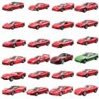 Carrinhos de Metal Maisto 18-36001 Sortidos, Ferrari Burago, Escala 1:43, Contém 12 Unidades