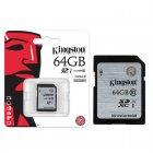 Cartão de Memória Kingston Classe 10 Secure Digital 64GB - SD10VG2/64GB
