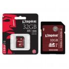 Cartão de Memória Kingston Classe 10 UHS-I U3 Ultimate 32GB SDA3-32GB